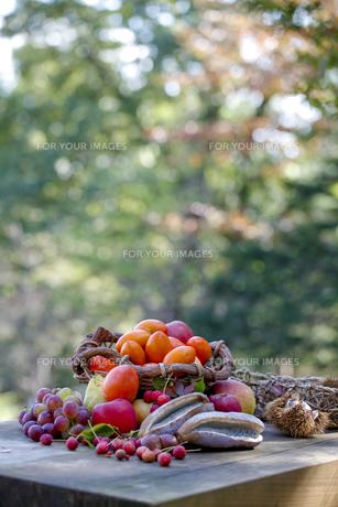 秋の味覚の写真素材 [FYI00039158]