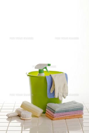 掃除道具の写真素材 [FYI00039168]