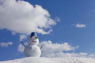 雪だるまの素材 [FYI00039272]