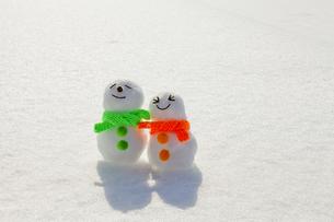 雪だるまの素材 [FYI00039276]