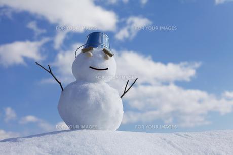 雪だるまの素材 [FYI00039284]