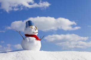 雪だるまの素材 [FYI00039287]