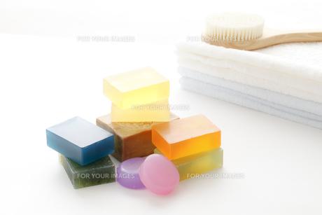 石鹸の写真素材 [FYI00039329]
