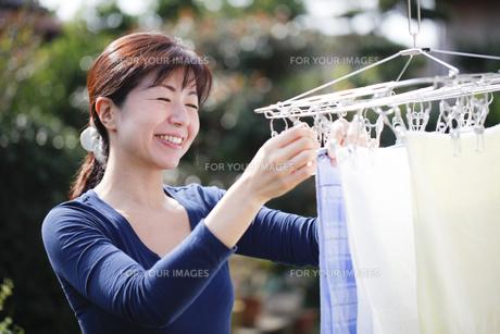 洗濯の写真素材 [FYI00039362]