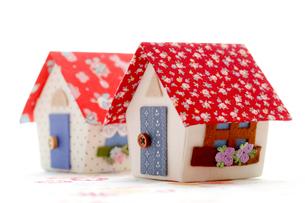 かわいい家のクラフトの写真素材 [FYI00039383]