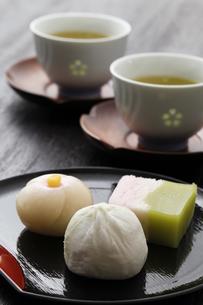 和菓子の写真素材 [FYI00039447]