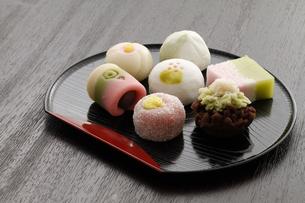 和菓子の写真素材 [FYI00039453]