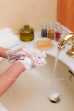 手洗いの写真素材 [FYI00039471]