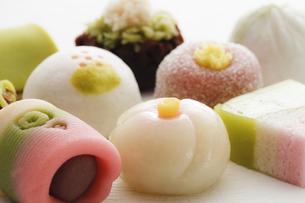 和菓子の写真素材 [FYI00039490]