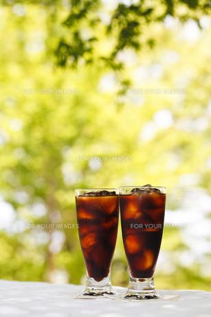 アイスコーヒーの写真素材 [FYI00039725]