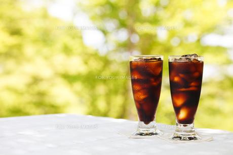 アイスコーヒーの写真素材 [FYI00039731]