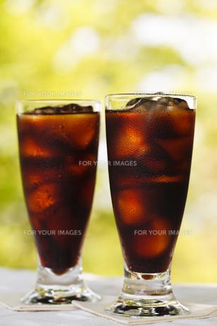 アイスコーヒーの写真素材 [FYI00039733]