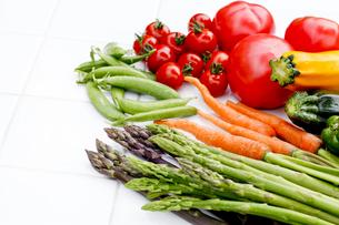 野菜の収穫の写真素材 [FYI00039832]