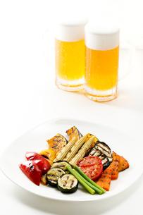 焼き野菜の写真素材 [FYI00039845]