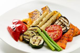 焼き野菜の写真素材 [FYI00039856]