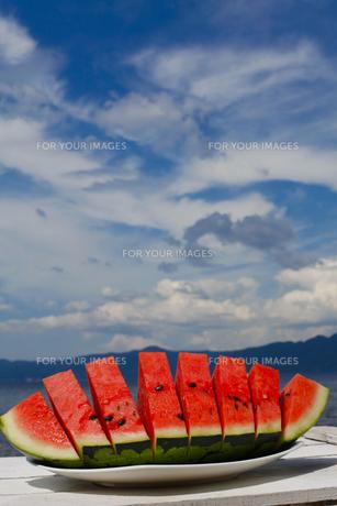 西瓜の素材 [FYI00040016]