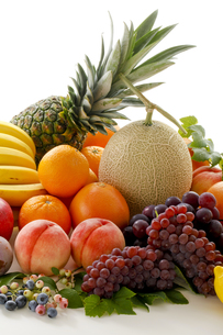 果物集合の写真素材 [FYI00040053]