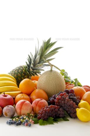果物集合の写真素材 [FYI00040055]