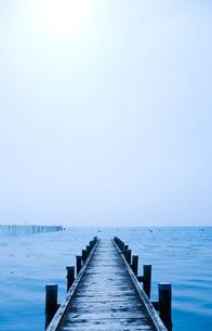 琵琶湖の風景の写真素材 [FYI00040412]