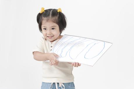 笑顔の女の子の写真素材 [FYI00040548]