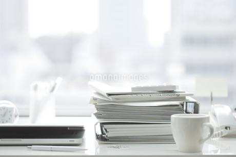 オフィスデスクの写真素材 [FYI00041029]