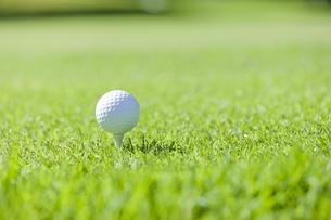 ゴルフボールの写真素材 [FYI00041376]