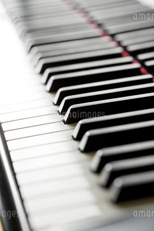 ピアノの鍵盤の写真素材 [FYI00041378]