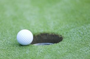 ゴルフボールの写真素材 [FYI00041379]