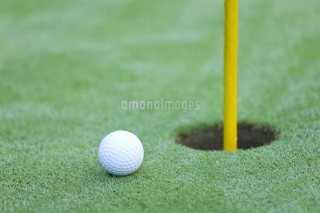 ゴルフボールの写真素材 [FYI00041380]