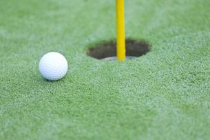 ゴルフボールの写真素材 [FYI00041381]