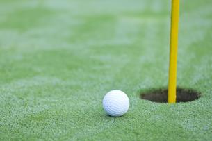 ゴルフボールの写真素材 [FYI00041390]