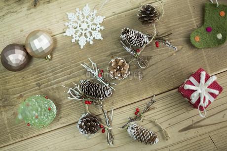 クリスマスグッズの写真素材 [FYI00041815]