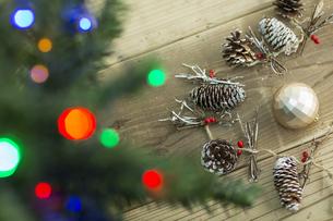 クリスマスグッズの写真素材 [FYI00041822]