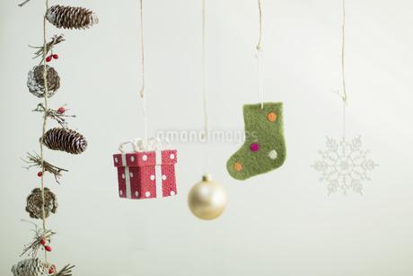 クリスマスグッズの写真素材 [FYI00041831]