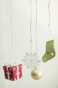 クリスマスグッズの写真素材 [FYI00041839]