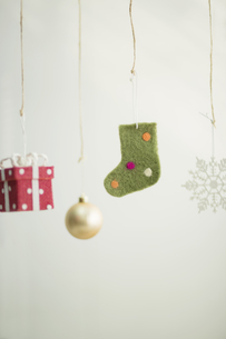 クリスマスグッズの写真素材 [FYI00041841]