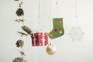 クリスマスグッズの写真素材 [FYI00041844]