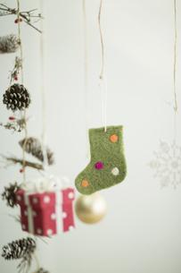 クリスマスグッズの写真素材 [FYI00041847]