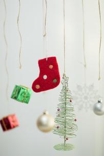 クリスマスグッズの写真素材 [FYI00041848]