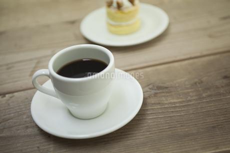 コーヒーとケーキの素材 [FYI00041967]