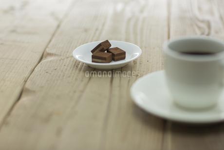 生チョコとコーヒーの素材 [FYI00041969]