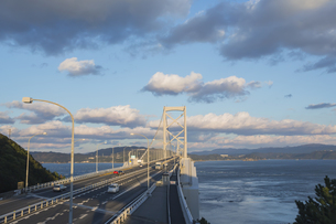 鳴門海峡大橋の写真素材 [FYI00042016]