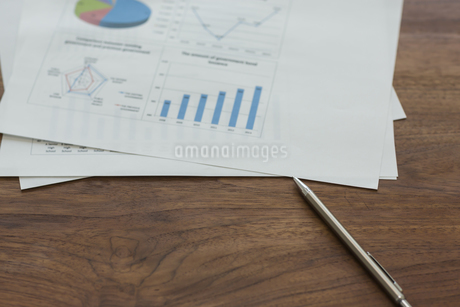 オフィスデスクの写真素材 [FYI00042111]