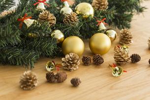 クリスマスグッズの写真素材 [FYI00042402]