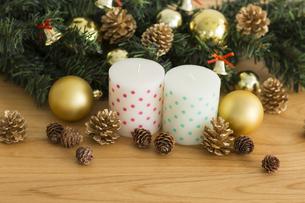 クリスマスグッズの写真素材 [FYI00042407]