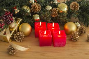クリスマスグッズの写真素材 [FYI00042408]