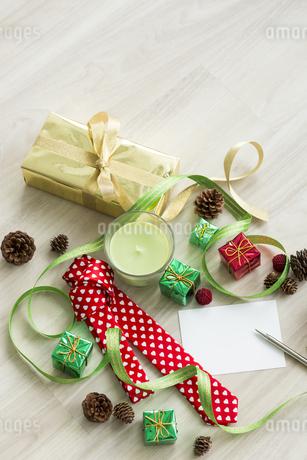 クリスマスグッズの写真素材 [FYI00042413]