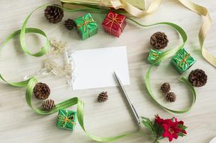 クリスマスグッズの写真素材 [FYI00042429]
