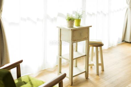 部屋の中にある家具の写真素材 [FYI00042510]