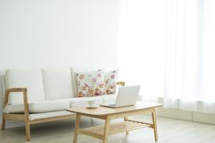 部屋の中にある家具の写真素材 [FYI00042580]